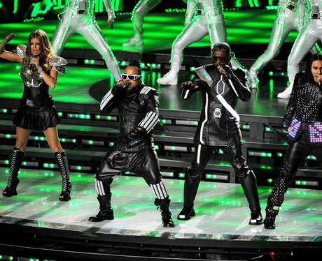 Black Eyed Peas at the The Super Bowl XLV