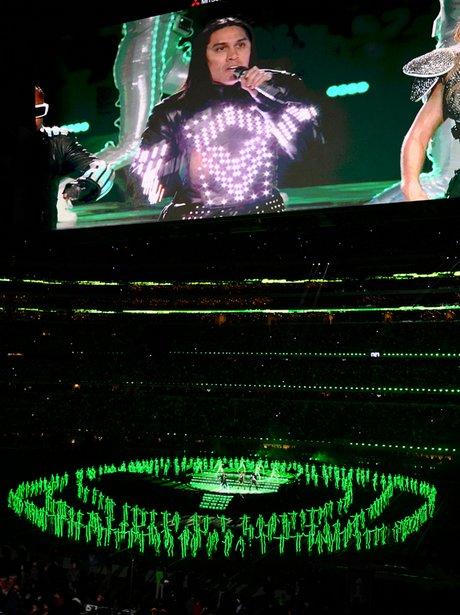 Black Eyed Peas at The Superbowl XLV