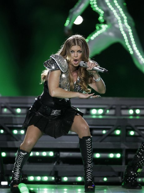 Black Eyed Peas at The Super Bowl XLV
