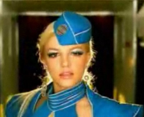 Britney Spears in 'Toxic' music video