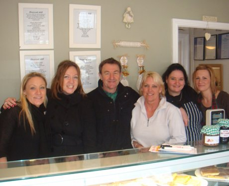 Twiggy, Emma and the Draycott Deli Girls