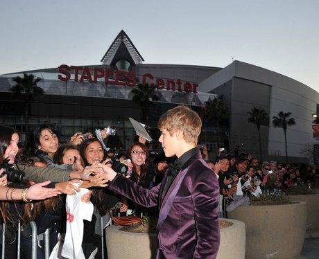 Justin Bieber Never Say Never premiere