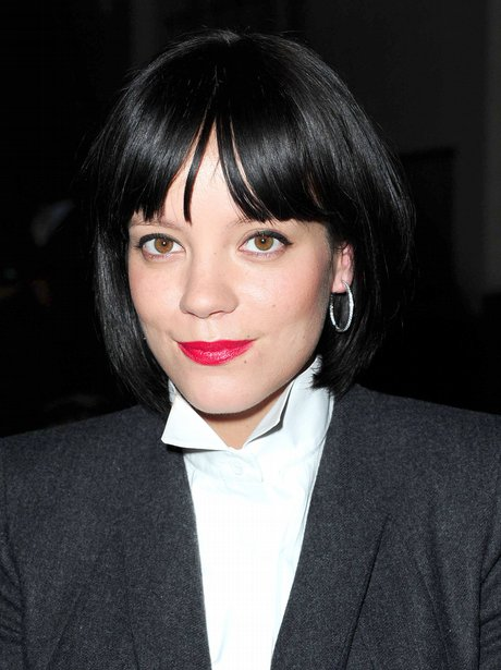 Lily Allen out in London