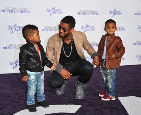usher Never Say Never premiere