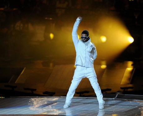 Usher at the The Superbowl XLV