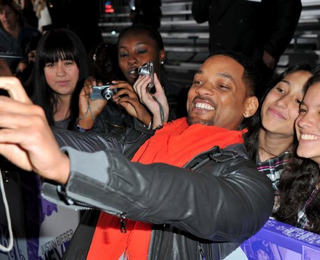 will smith Never Say Never premiere