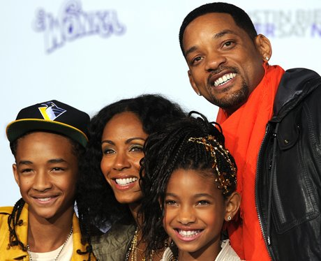 will smith and family Never Say Never premiere