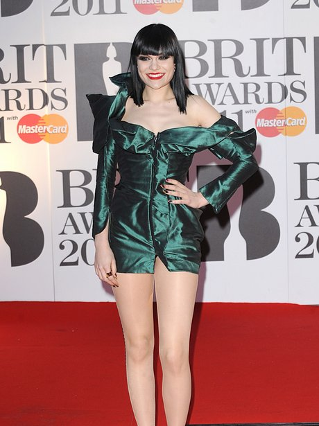 Jessie J at the 2011 BRIT Awards