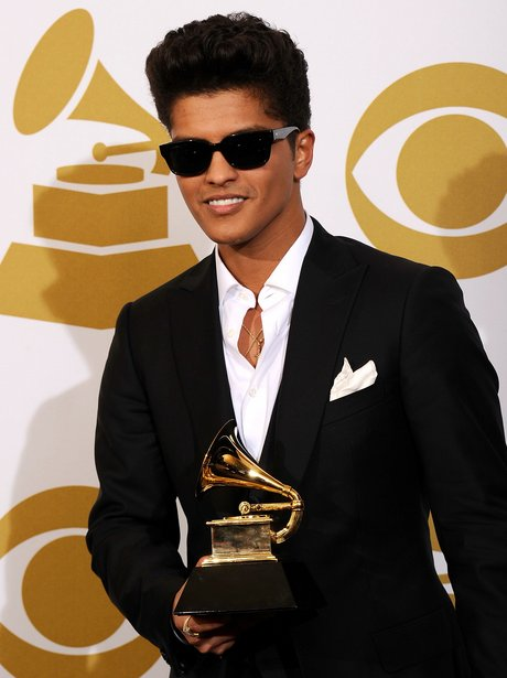 Bruno Mars winner of a Grammy Award
