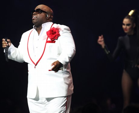 Cee Lo Green and Paloma Faith live at the BRIT Awa