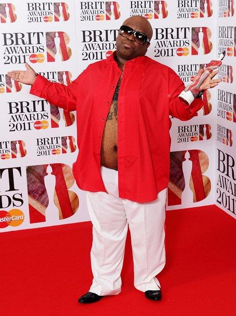 Cee Lo Green at the Brit Awards