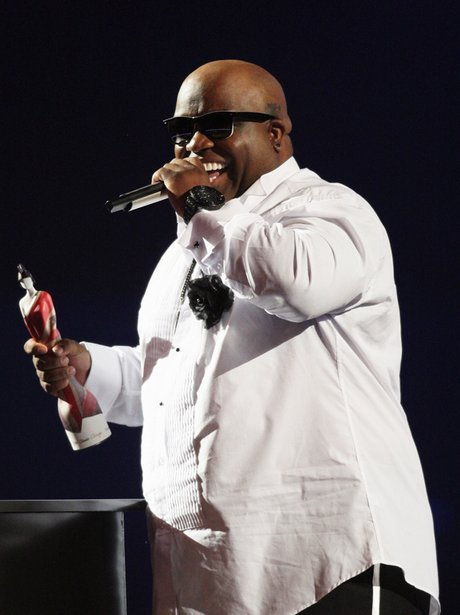 cee lo green at the Brit Awards