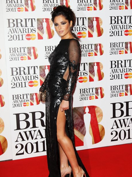 Cheryl Cole at the BRIT Awards 2011