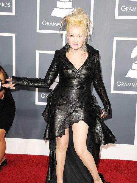 cyndi lauper at the Grammy Awards