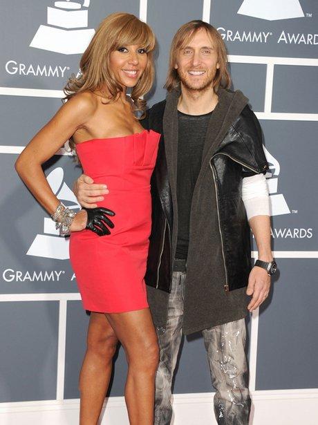 david guetta at the Grammy Awards 2011