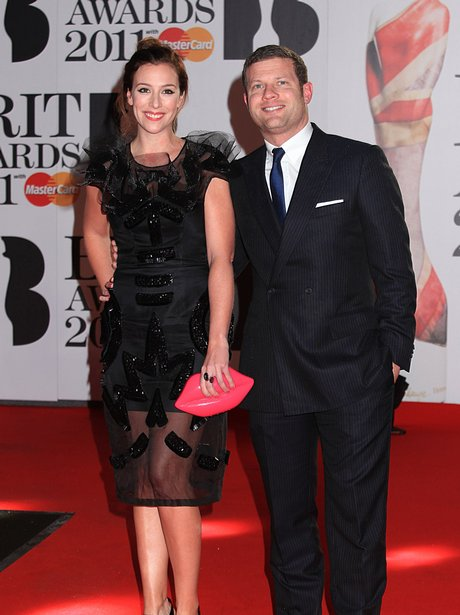 Dermot O'Leary and Dee Koppang arriving for the 20