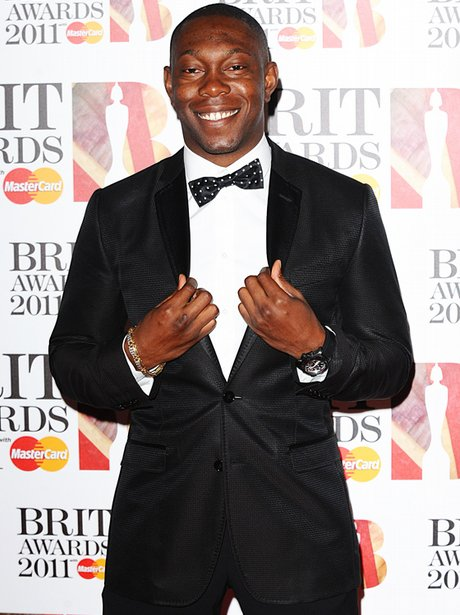 Dizzee Rascal arriving for the 2011 Brit Awards at