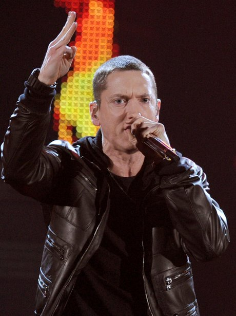 Eminem at the Grammy Awards 2011