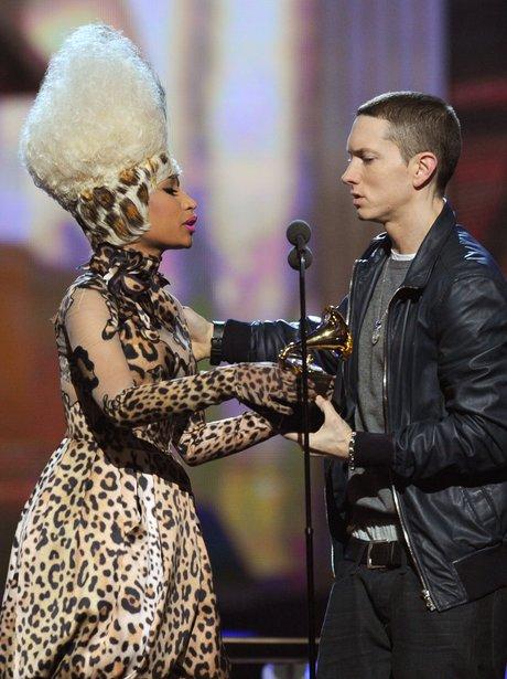 Eminem at the Grammy Awards 2011