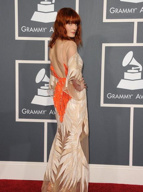 Florence Welch at the Grammy Awards