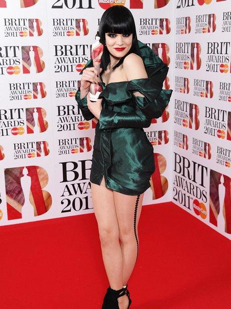 Jessie J at the BRIT Awards