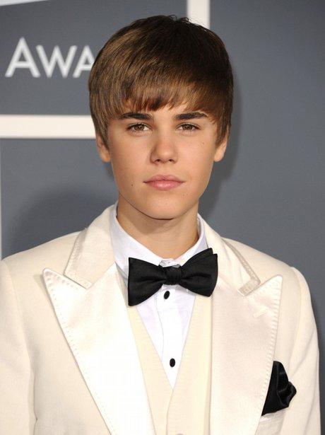 Justin Bieber at the Grammy Awards