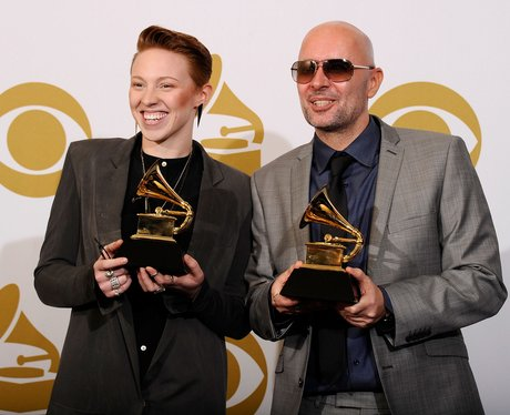 La Roux at the grammys