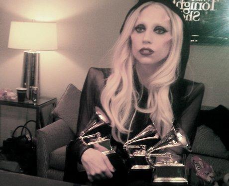 lady gaga with awards