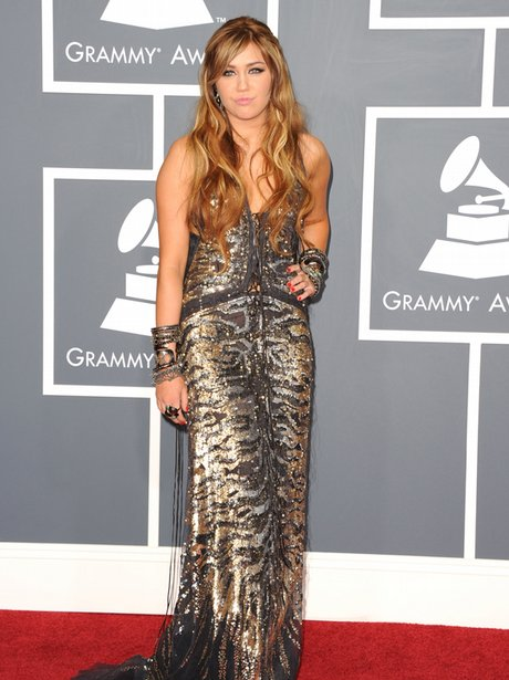 Miley Cyrus at the Grammy Awards