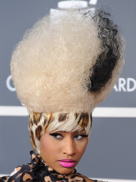 nicki minaj at the Grammy Arrivals 2011