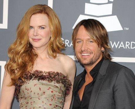 Nicole Kidman and musician Keith Urban at the Gram
