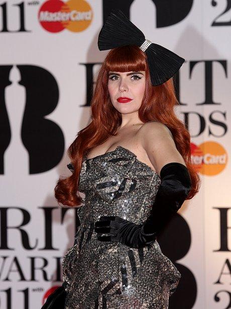 Paloma Faith arriving for the 2011 Brit Awards