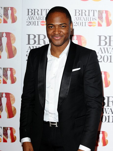 Taio Cruz at the BRIT Awards 2012