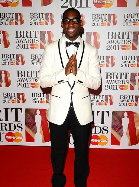 Tinie Tempah arriving for the 2011 Brit Awards
