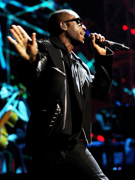 tinie tempah at the brits awards