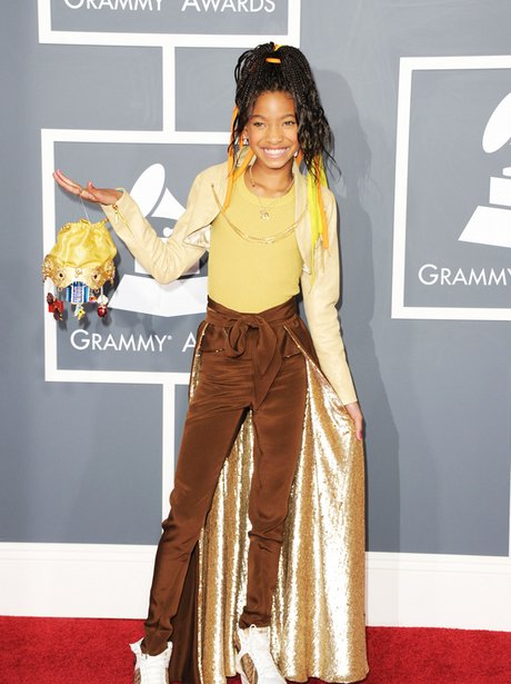 willow smith at the Grammy awards 2011