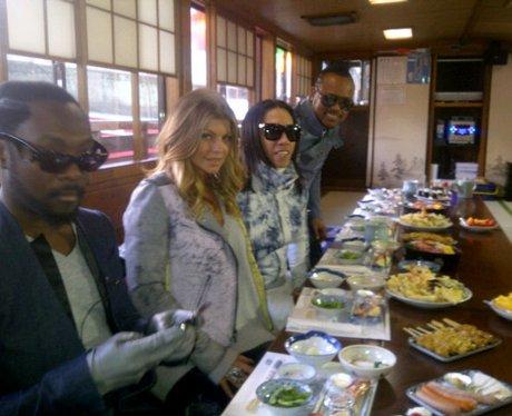 Black Eyed Peas in Japan