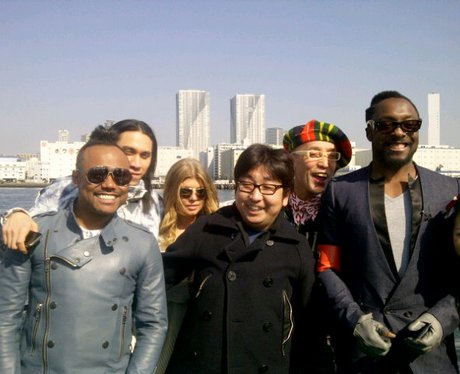 Black Eyed Peas in Japan