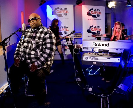 Cee Lo Green Capital FM session