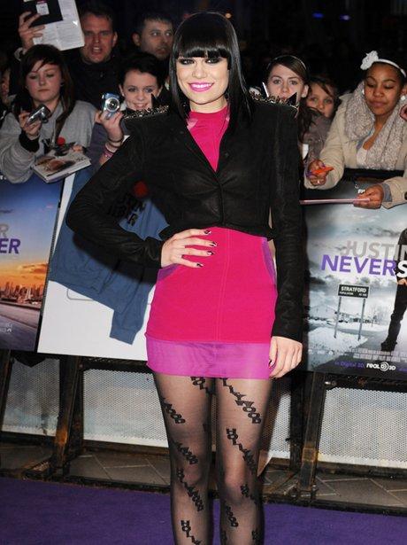 Jessie J at premiere