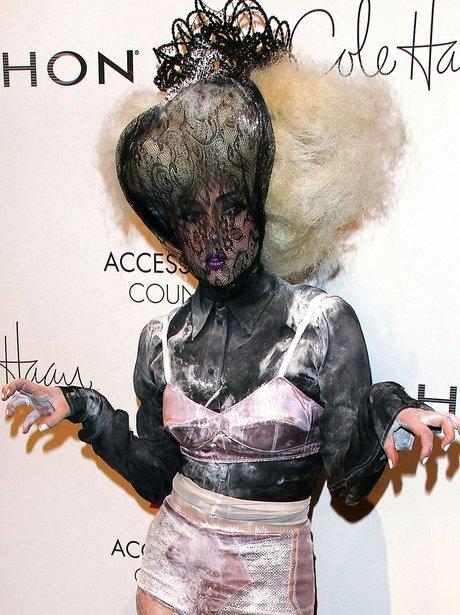 Lady Gaga's Scary Pose