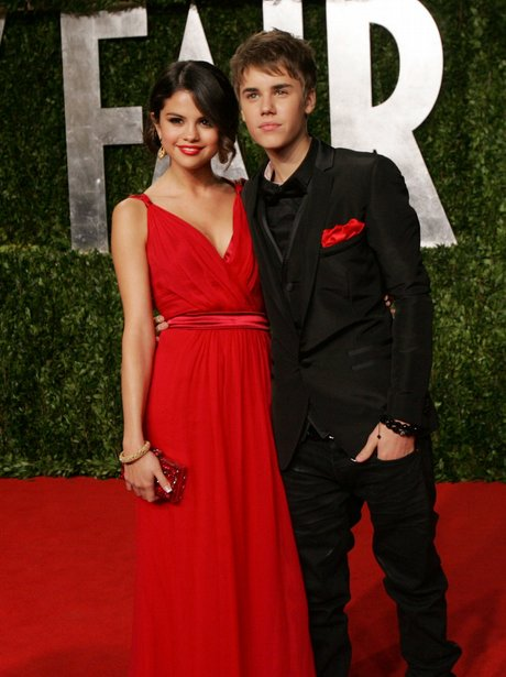 Selena Gomez and Justin Bieber at the Oscars