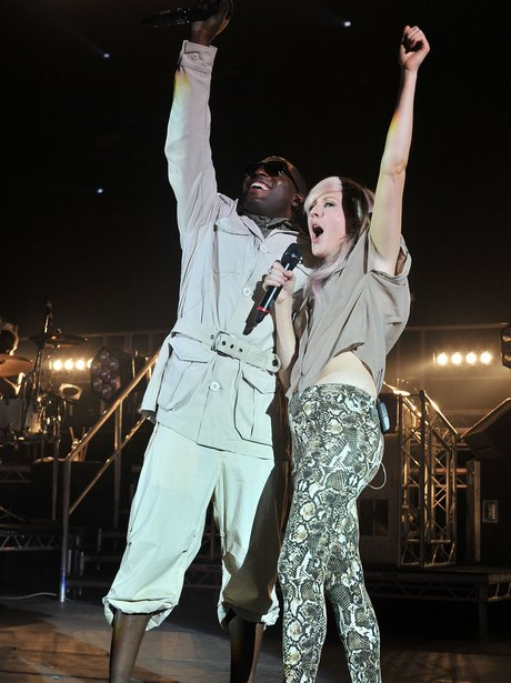 Tinie Tempah and Ellie Goulding at Hammersmith Apo