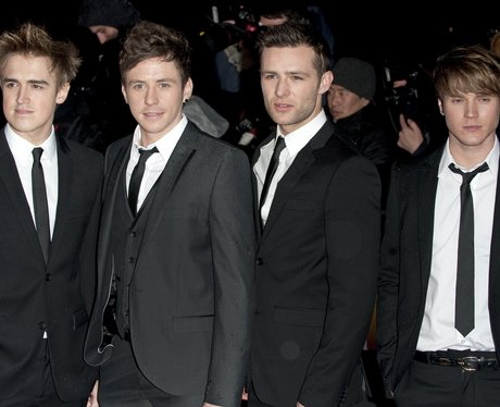 McFly on the red carpet