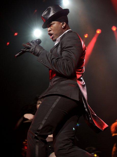 NE-YO live on stage