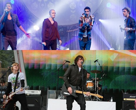 The Wanted Vs McFly