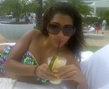 Vanessa White on holiday
