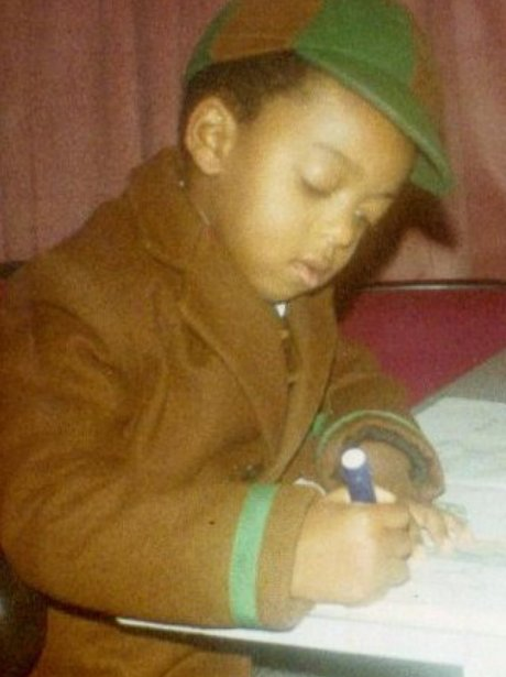 jls oritse as a young boy