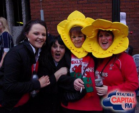 Wales V Ireland Fans