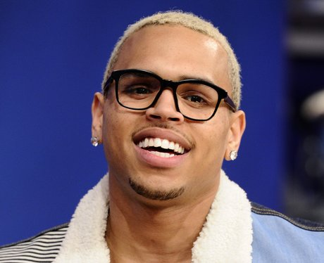 Chris Brown performs on BET's
